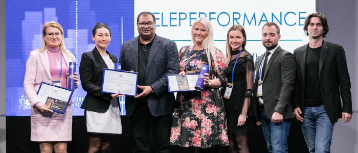 ФМИ присудила Teleperformance Russia Group награду за «Выдающееся сотрудничество»